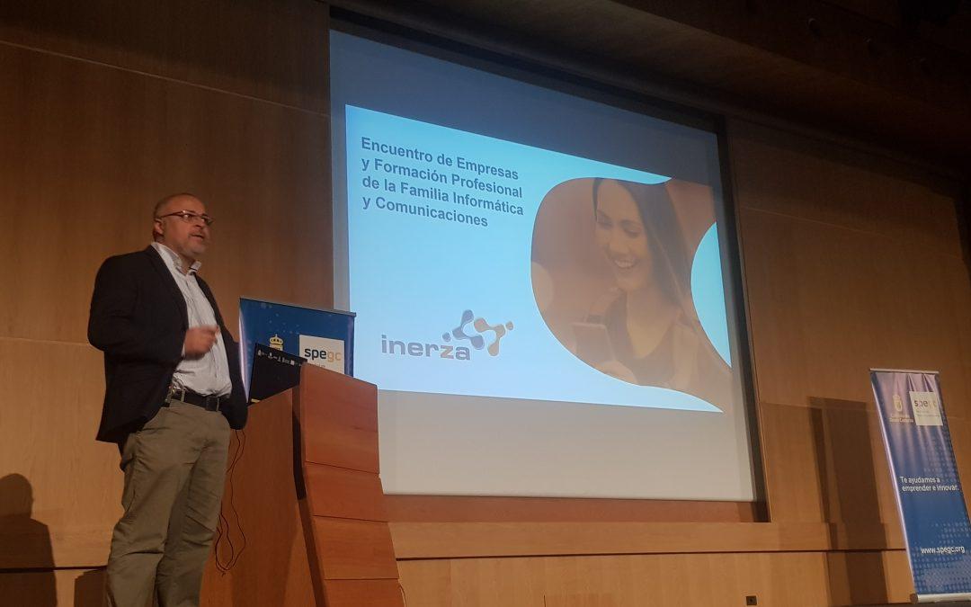 Inerza participa en el encuentro 'Nodízate' entre TIC y FP