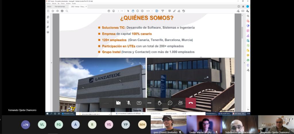 Inerza Escuela Informática ULPGC