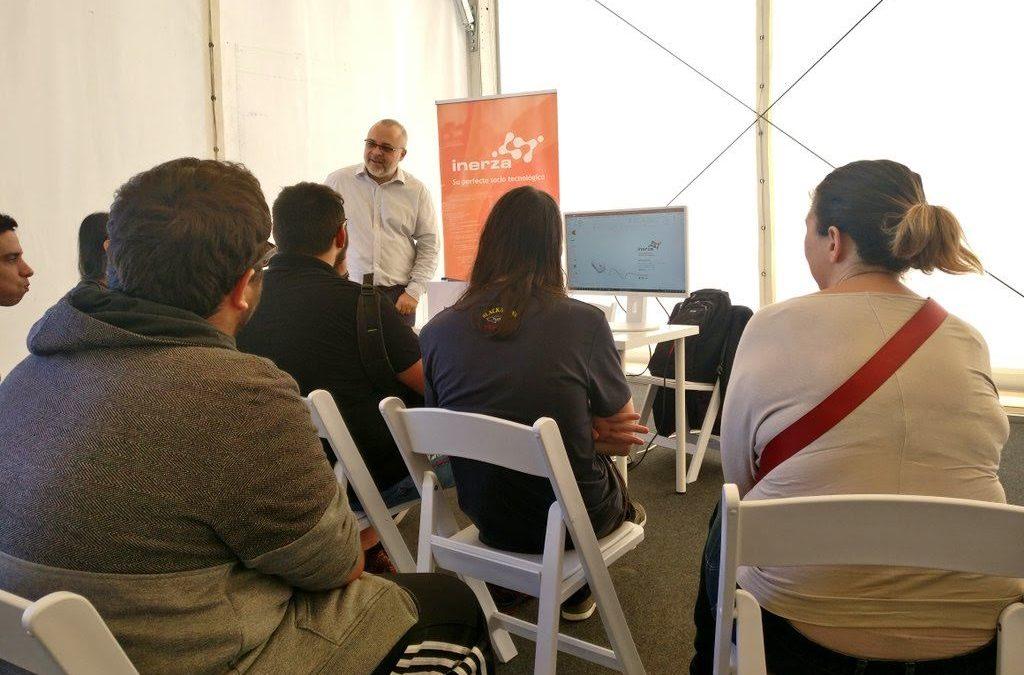 Inerza se acerca a los alumnos de FP en el cuarto Encuentro de Empresas TIC