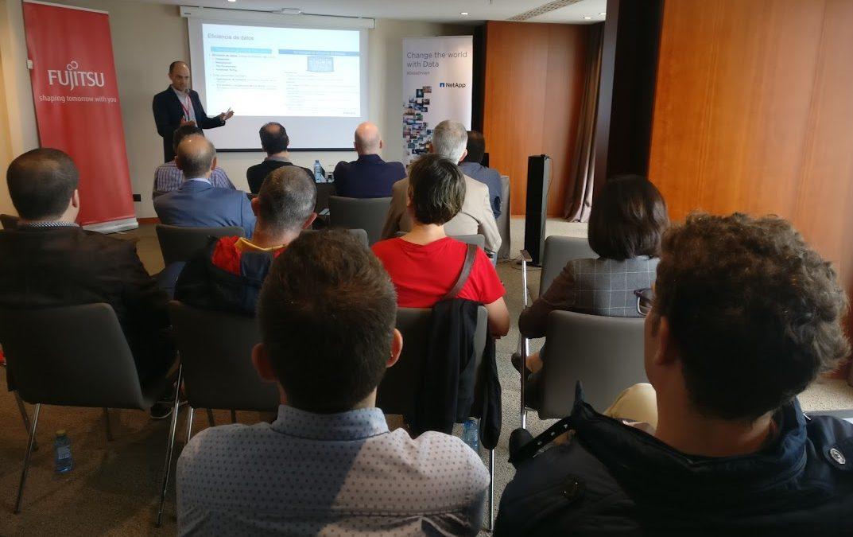 Inerza acerca a Canarias las novedades de Fujitsu y NetApp
