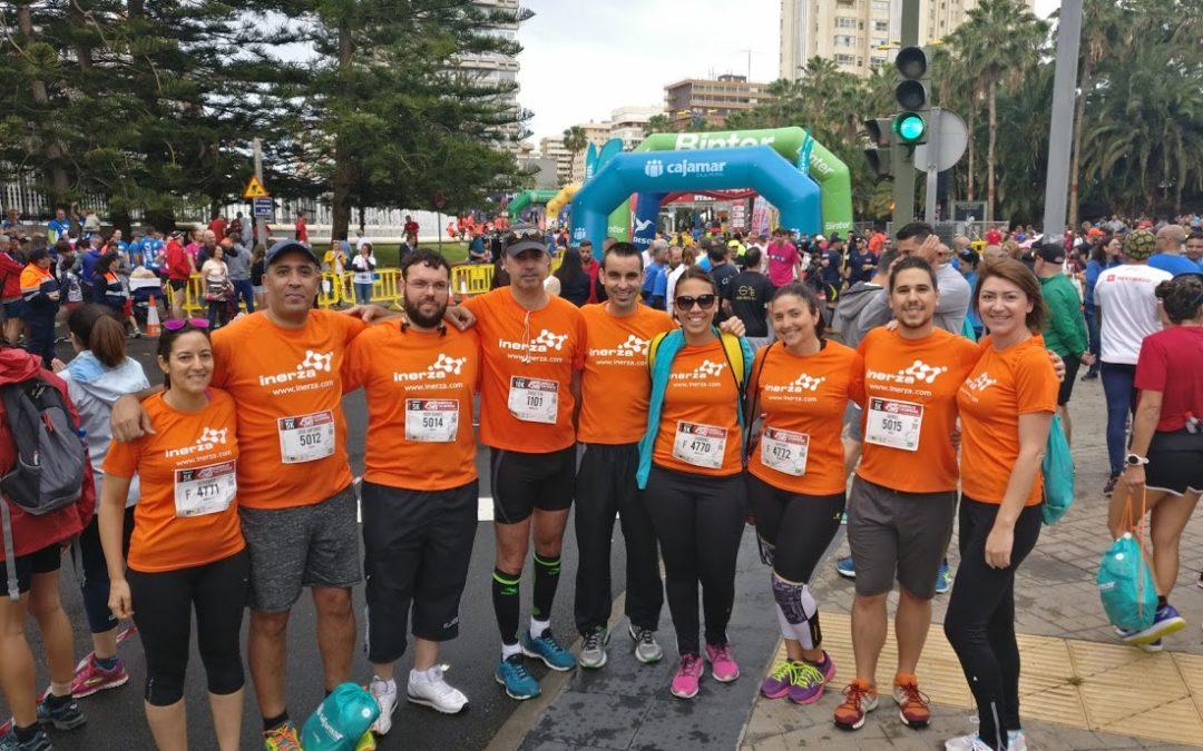 Inerza se suma a la fiesta de la Carrera de las Empresas de Canarias7