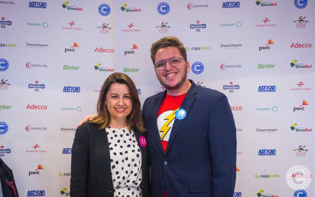 Un tutelado de Inerza obtiene el primer premio del Canarias Masterclass