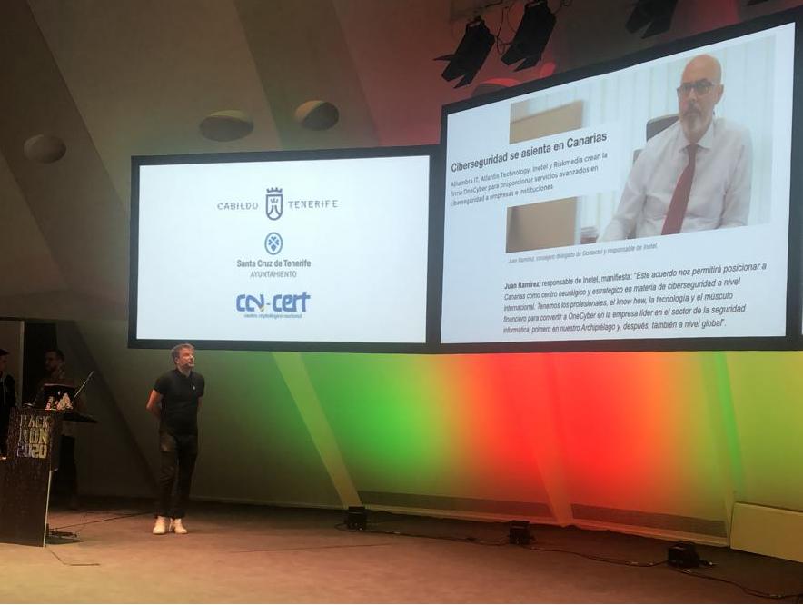 OneCyber se presenta en sociedad en el Congreso Hackron