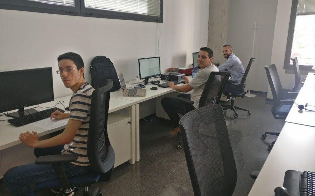 Estudiantes de Informática de la ULPGC complementan su formación en Inerza